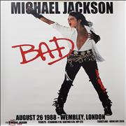 Click here for more info about 'Michael Jackson - Bad Tour 1988: August 26 1988 - Wembley, London'