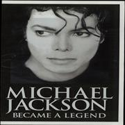 Click here for more info about 'Michael Jackson - Became A Legend - Promotional Newspaper'