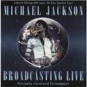 Michael Jackson Broadcasting Live - Sealed UK vinyl LP