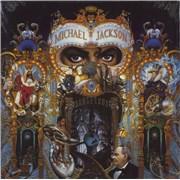 Michael Jackson Dangerous - Yellow Barcode - Sealed UK 2-LP vinyl set
