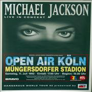 Click here for more info about 'Michael Jackson - Dangerous World Tour '92 - Open Air, Koln'
