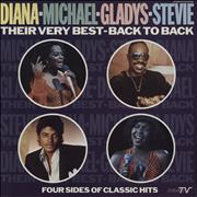 Click here for more info about 'Michael Jackson - Diana - Michael - Gladys - Stevie - Their Very Best - Back To Back'
