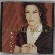 Michael Jackson Earth Song UK CD single