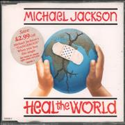 Click here for more info about 'Michael Jackson - Heal The World - Picture CD + Stickered case'