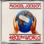 Click here for more info about 'Michael Jackson - Heal The World - Picture CD'
