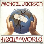 Click here for more info about 'Michael Jackson - Heal The World - Poster Sleeve'