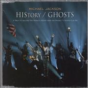 Michael Jackson History / Ghosts UK CD single