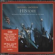 Michael Jackson History - CD2 UK CD single