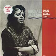 Click here for more info about 'Michael Jackson - I Just Can't Stop Loving You + Poster - EX'