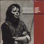 Click here for more info about 'Michael Jackson - I Just Can't Stop Loving You + Sleeve'