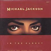 Click here for more info about 'Michael Jackson - In The Closet - Fold-Out Poster Sleeve'