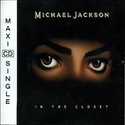 Click here for more info about 'Michael Jackson - In The Closet'
