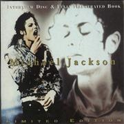 Click here for more info about 'Michael Jackson - Interview Disc & Fully Illustrated Book'