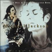 Click here for more info about 'Michael Jackson - Interview Disc & Fully Illustrated Book - Sealed'
