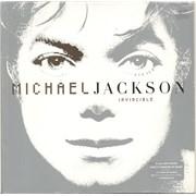 Michael Jackson Invincible UK 2-LP vinyl set