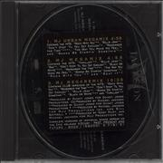 Michael Jackson MJ Megamixes USA CD single Promo