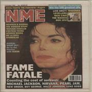 Click here for more info about 'Michael Jackson - NME - 2nd October 1993'