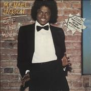 Click here for more info about 'Michael Jackson - Off The Wall - shaped-sticker p/s'