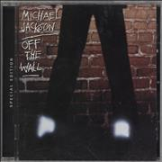 Michael Jackson Off The Wall UK CD album