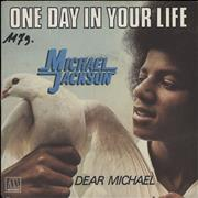 Click here for more info about 'Michael Jackson - One Day In Your Life - EX'