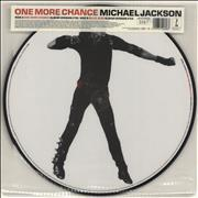 "Michael Jackson One More Chance UK 12"" picture disc"