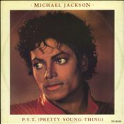 Click here for more info about 'Michael Jackson - P.Y.T. (Pretty Young Thing) - EX'