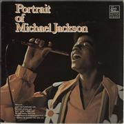 Click here for more info about 'Portrait of Michael Jackson/Jackson 5'