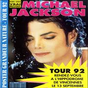 Click here for more info about 'Michael Jackson - Poster Grandeur Nature - Tour 92'