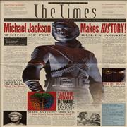 Click here for more info about 'Michael Jackson - Remember The Times - Newspaper Supplement'