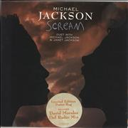 Click here for more info about 'Michael Jackson - Scream - Poster Sleeve'