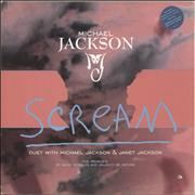 Click here for more info about 'Michael Jackson - Scream (David Morales And Naughty By Nature Mixes) - Red Sleeve'