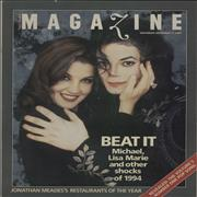 Click here for more info about 'Michael Jackson - Six Newspaper Magazines & Supplements'