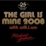 Michael Jackson The Girl Is Mine 2008 UK CD single