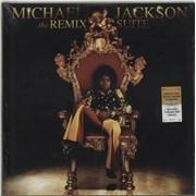 Michael Jackson The Remix Suite - 180gram Vinyl + Sealed USA 2-LP vinyl set
