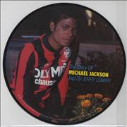 Michael Jackson The Story Of Michael Jackson Netherlands picture disc LP