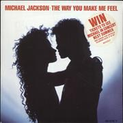 Click here for more info about 'Michael Jackson - The Way You Make Me Feel - Stickered sleeve + competition insert'