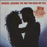 Click here for more info about 'Michael Jackson - The Way You Make Me Feel - Stickered sleeve'