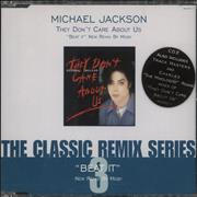 Click here for more info about 'Michael Jackson - They Don't Care About Us - CD2 - Stickered'