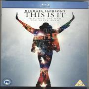 Michael Jackson This Is It UK Blu Ray