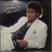 Michael Jackson Thriller - 1st - EX UK vinyl LP