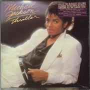 Click here for more info about 'Michael Jackson - Thriller - Sealed + Song Hype Sticker'
