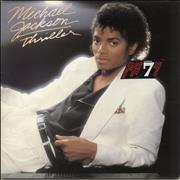 Click here for more info about 'Michael Jackson - Thriller - World's Best Album Sticker'