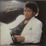 Michael Jackson Thriller UK vinyl LP