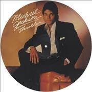 Michael Jackson Thriller UK picture disc LP