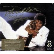 Michael Jackson Thriller UK CD album
