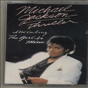 Michael Jackson Thriller UK cassette album