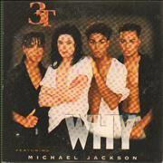 Michael Jackson Why (with 3t) Austria CD single