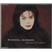 Michael Jackson You Are Not Alone Austria CD single
