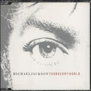 Michael Jackson You Rock My World Australia CD single