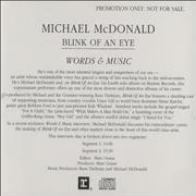Click here for more info about 'Michael McDonald - Words & Music'